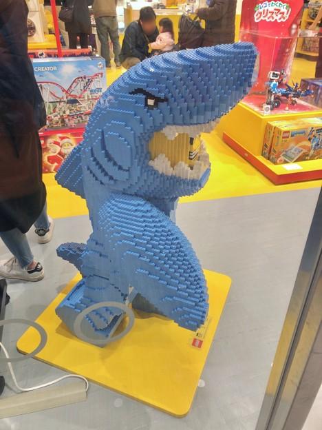 ららぽーと名古屋みなとアクルス No - 15:サメ人間のレゴ