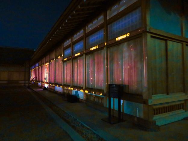 名古屋城×NAKED NIGHT CASTLE OWARI EDO FANTASIA 2018:本丸御殿の巨大横長プロジェクション・マッピング - 17