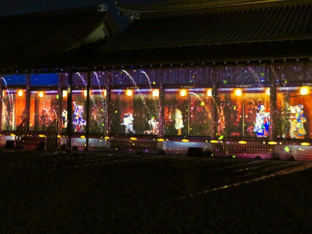 名古屋城×NAKED NIGHT CASTLE OWARI EDO FANTASIA 2018:本丸御殿の巨大横長プロジェクション・マッピング - 20