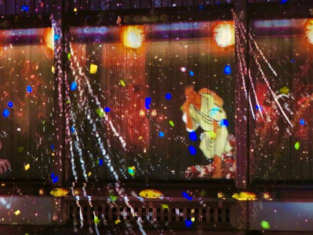 名古屋城×NAKED NIGHT CASTLE OWARI EDO FANTASIA 2018:本丸御殿の巨大横長プロジェクション・マッピング - 21