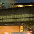 桃花台線の桃花台東駅周辺撤去工事(2018年12月22日):もう一方の高架も撤去開始 - 2