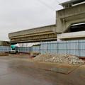 桃花台線の桃花台東駅周辺撤去工事(2018年12月23日):もう片方の高架も撤去開始 - 8
