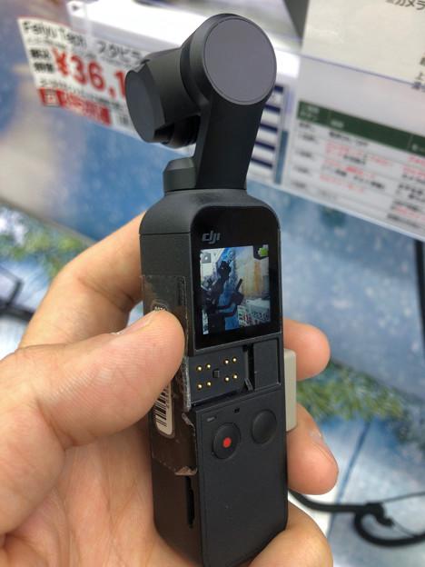予想より2回り小さかった「DJI Osmo Pocket」 - 4