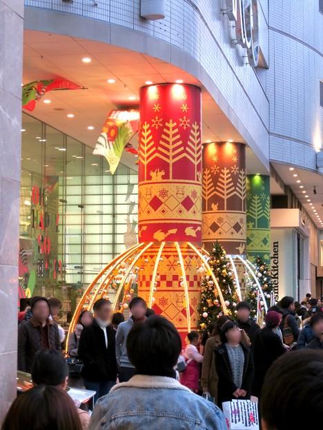 名古屋パルコ:「ピカ・ブイカフェ」コラボの今年(2018年)のクリスマスデコレーション - 1
