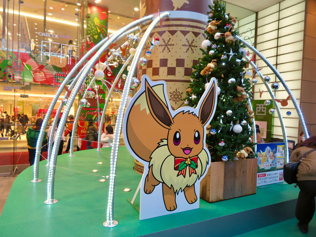 名古屋パルコ:「ピカ・ブイカフェ」コラボの今年(2018年)のクリスマスデコレーション - 4