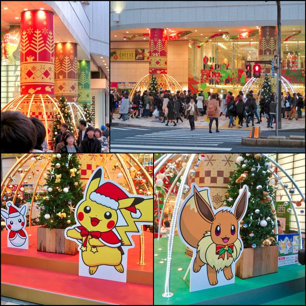 名古屋パルコ:「ピカ・ブイカフェ」コラボの今年(2018年)のクリスマスデコレーション - 6