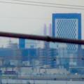 県営岩崎住宅から見えた名港西大橋