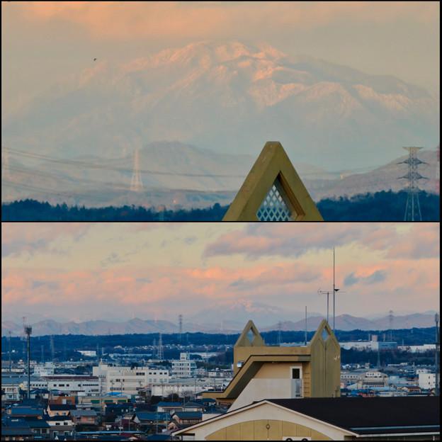 雪を頂いてた御嶽山(2018年12月)- 6