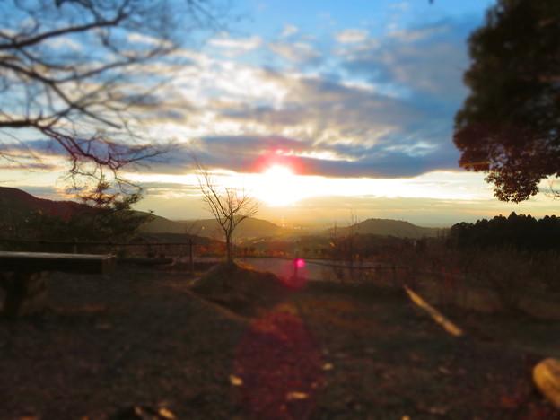 定光寺展望台から見た景色 - 4(ミニチュアライズ)