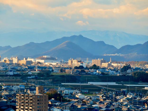 犬山成田山から見た岐阜城・金華山 - 1