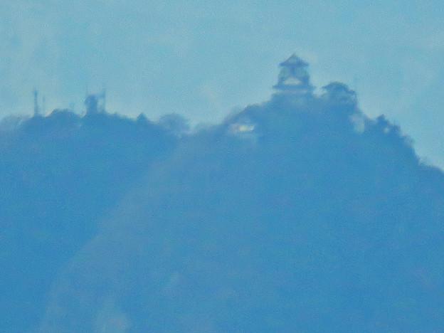 犬山成田山から見た岐阜城・金華山 - 3