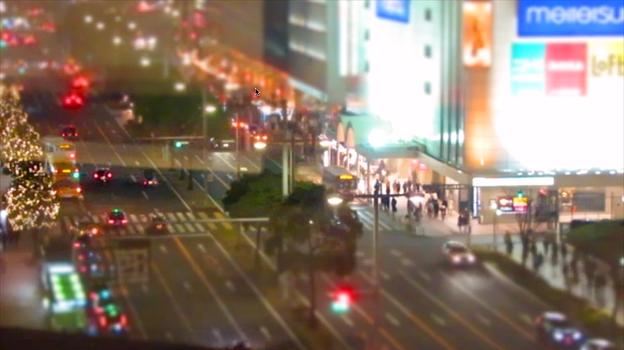 大名古屋ビルヂング5階から見下ろした夜の名駅通 - 2