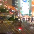 Photos: 大名古屋ビルヂング5階から見下ろした夜の名駅通 - 2