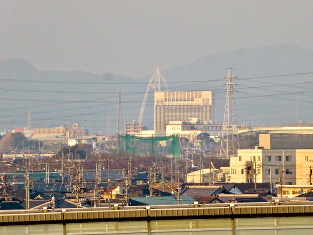 清洲城天守閣から見た景色:ツインアーチ138 - 1