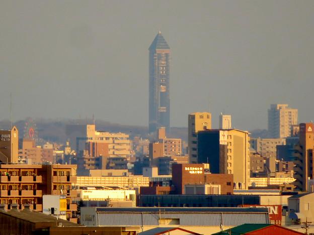 清洲城天守閣から見た景色:東山スカイタワー - 2
