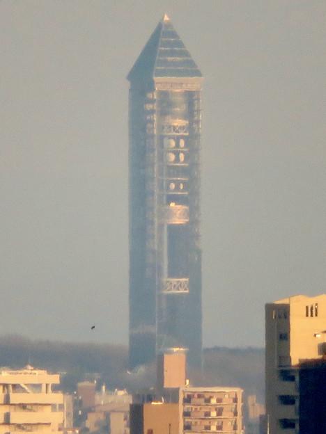 清洲城天守閣から見た景色:東山スカイタワー - 3