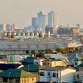 清洲城天守閣から見た景色:名駅ビル群 - 2