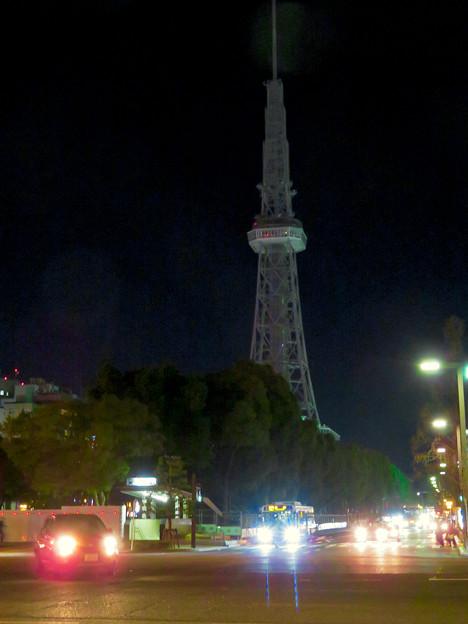 改修工事のためイルミネーションが消えてた名古屋テレビ塔(2019年1月13日) - 10
