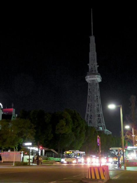 改修工事のためイルミネーションが消えてた名古屋テレビ塔(2019年1月13日) - 12