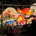 Photos: 名古屋中国春節祭 2019(夜間)No - 10:鯉の形をした提灯