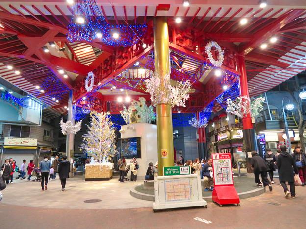 大須商店街:2018-19シーズンの招き猫広場のイルミネーション - 1