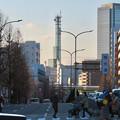Photos: 西大須交差点から見えた中京テレビ本社の塔 - 1