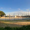 再整備工事中で閉鎖されてた朝宮公園の一部(2019年2月16日) - 4:パノラマ