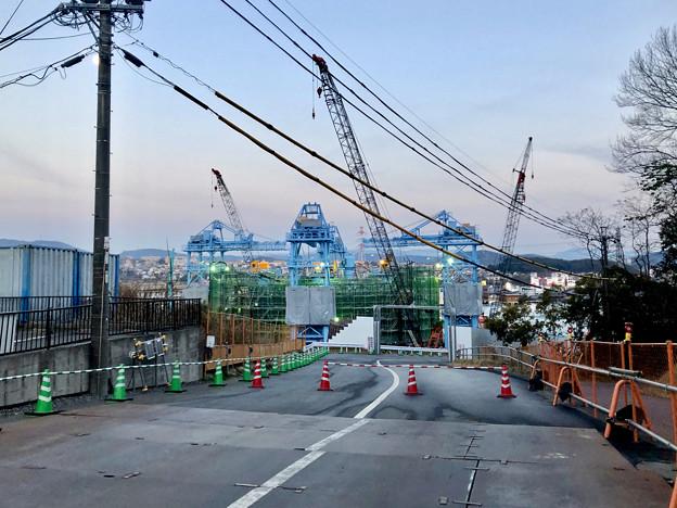 建設中のリニア非常口工事現場(2019年2月18日) - 3