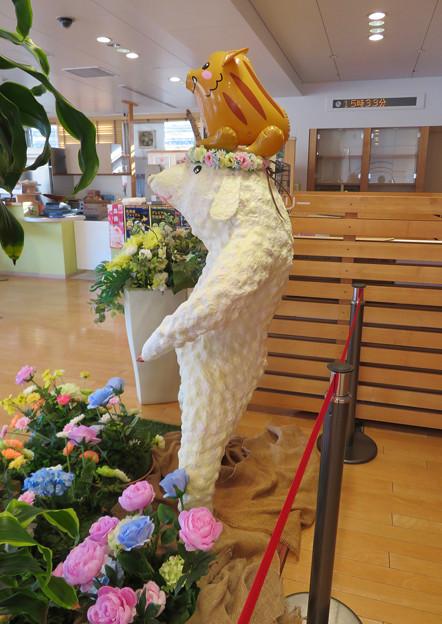 花フェスタ記念公園:花のミュージアム内にいた変なキャラ - 4
