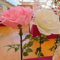 花フェスタ記念公園:花のミュージアム - 21(巨大なバラのオブジェ)