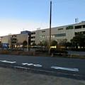Photos: 昨日閉店し灯りの消えたザ・モール春日井のステンドグラス - 1