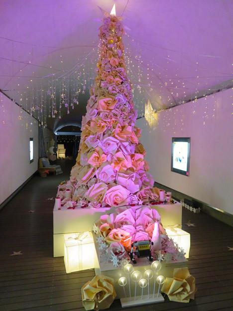 花フェスタ記念公園:トンネルギャラリー「トンネル・イルミネーション 2019」 - 9(ローズタワー)