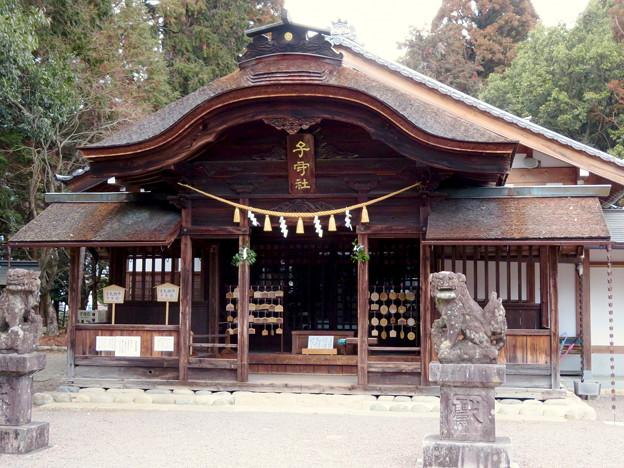 子守神社 - 14:本殿