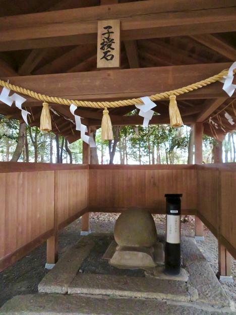 子守神社 - 22:子授石