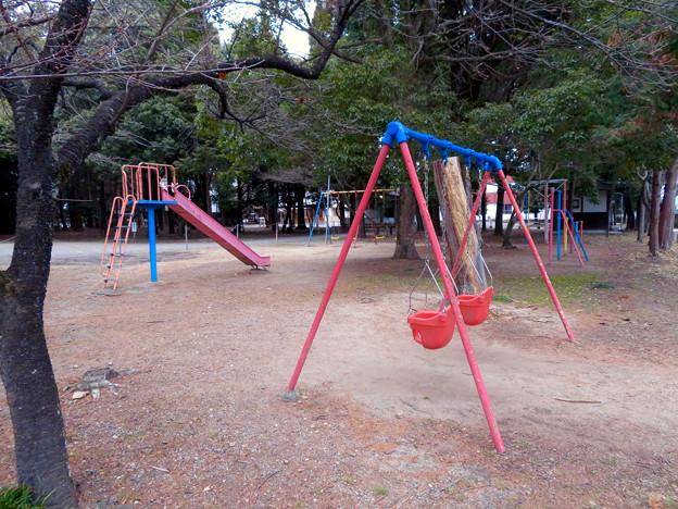 子守神社 - 26:境内の公園