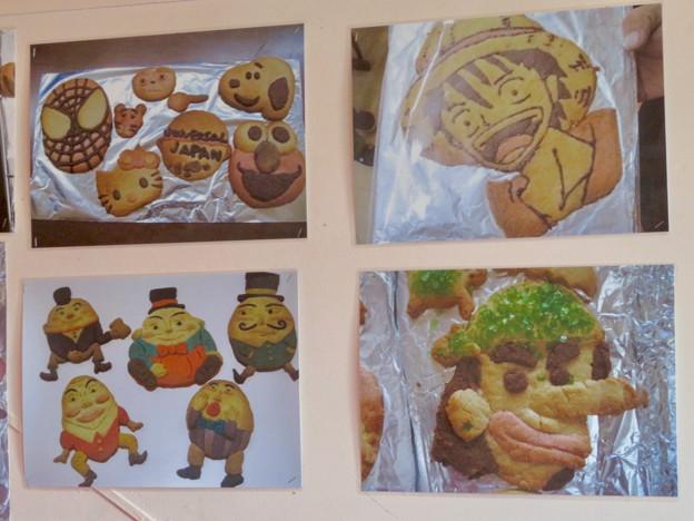 お菓子の城 No - 46:クッキー体験で作られた?クッキーの写真