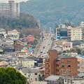 Photos: 円福寺の展望台から見た高蔵寺ニュータウンへと続く坂道 - 1