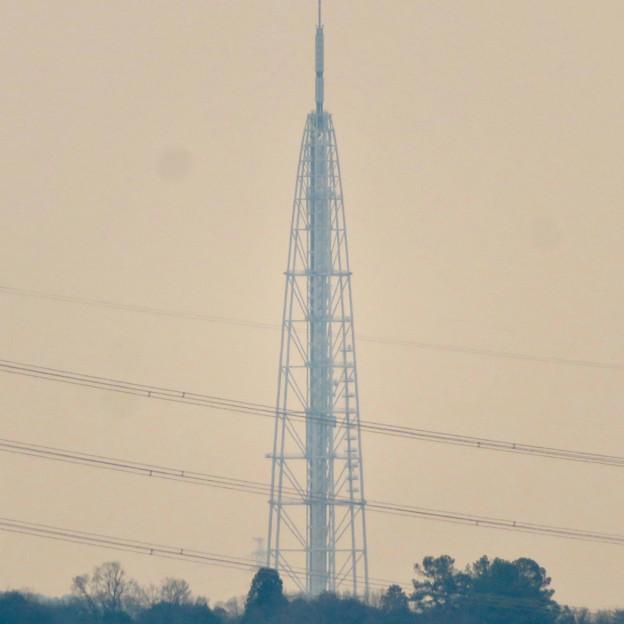 円福寺の展望台から見た瀬戸デジタルタワー - 2