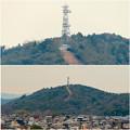 Photos: 円福寺の展望台から見た高座山の自衛隊演習場 - 1