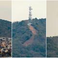 円福寺の展望台から見た高座山の自衛隊演習場 - 2