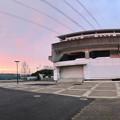 桃花台線の桃花台東駅周辺撤去工事(2019年3月19日) - 2:すっきりした駅前(パノラマ)