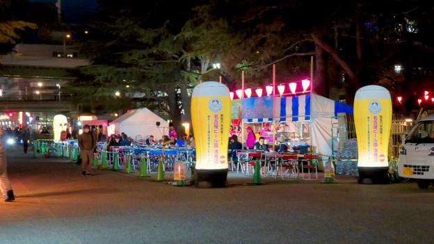 鶴舞公園 花まつり 2019(2019年3月23日) - 10:ビアガーデンもオープン