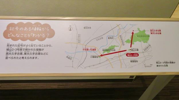 しだみ古墳群ミュージアム「SHIDAMU(しだみゅー)」展示室 No- 52:記号のある埴輪からわかること