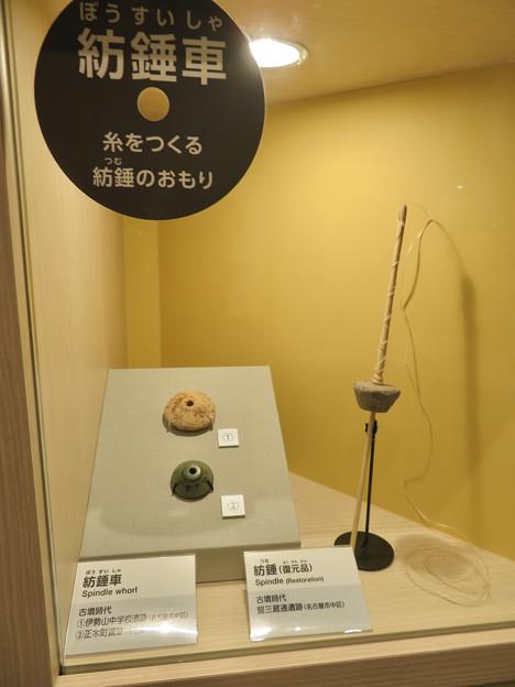 しだみ古墳群ミュージアム「SHIDAMU(しだみゅー)」展示室 No- 68:糸を作る道具「紡錘車」