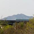 木曽川沿いから見えた岐阜城・金華山 - 1