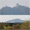 木曽川沿いから見えた岐阜城・金華山 - 5