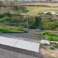 Photos: 木曽川河川敷の水位を見るための杭 - 1