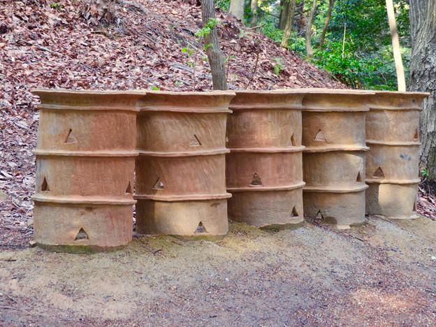 南社古墳 - 6:円筒埴輪