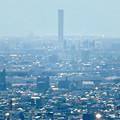 Photos: 尾張戸神社の展望台から見た景色 - 15:三菱電機稲沢製作所のエレベータ試験棟