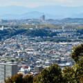 尾張戸神社の展望台から見た景色 - 16:桃花台ニュータウン